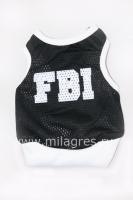 Майка FBI для собаки фото.  Увеличить.